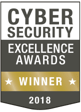Cybersecurity excellence award WINNER_gold_2018
