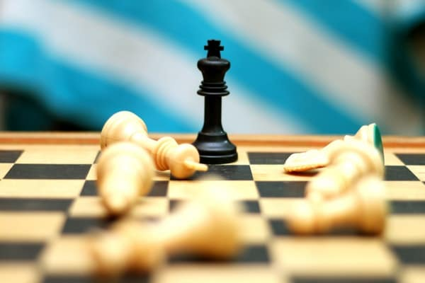 image of a chess board