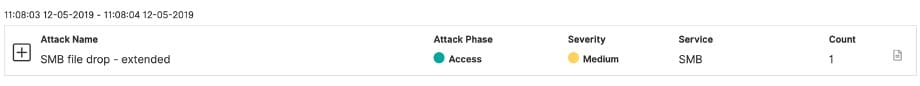 Attackers trying to move laterally to target SMB network shares