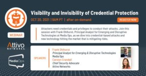 Frank Ohlhorst Visibility Invisibility of Credential Protection